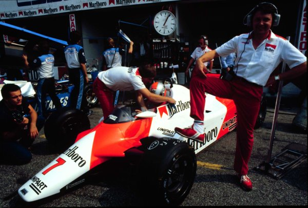 1982 Italian Grand Prix, Monza, Italy.