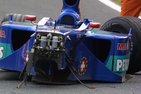 2001 Japanese Grand Prix - Friday / PracticeSuzuka, Japan. 20th October 2001.Nick Heidfeld (Sauber).World Copyright - LAT Photographicref: 8 9 MB Digital