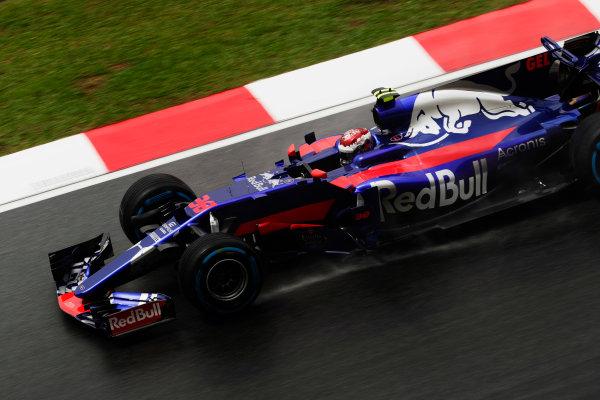 Sepang International Circuit, Sepang, Malaysia. Friday 29 September 2017. Sean Gelael, Toro Roso STR12 Renault.  World Copyright: Zak Mauger/LAT Images  ref: Digital Image _56I0454