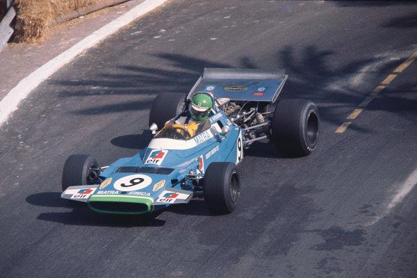 1970 Monaco Grand Prix.Monte Carlo, Monaco.7-10 May 1970.Henrii Pescarolo (Matra-Simca MS120) 3rd position.Ref- 70 MON 08. World Copyright - LAT Photographic