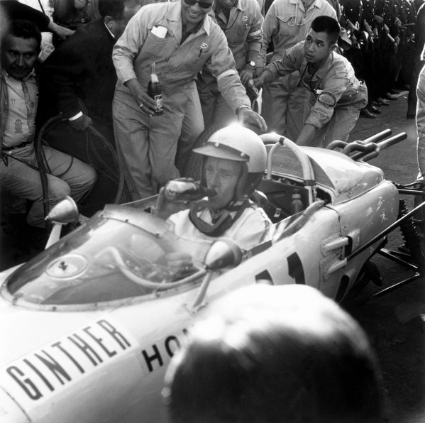 1965 Mexican Grand Prix, Mexico City. 24th October 1965.