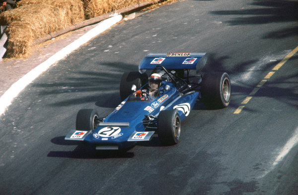 1970 Monaco Grand Prix. Monte Carlo, Monaco. 7 - 10 May 1970. Jackie Stewart (March 701-Ford), retired, action.  World Copyright: LAT Photographic. Ref:  70 MON 02.