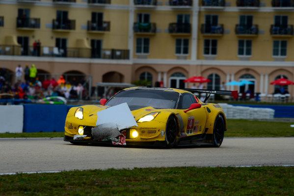 16-19 March, 2016, Sebring, Florida USA 4, Chevrolet, Corvette C7, GTLM, Oliver Gavin, Tommy Milner, Marcel Fassler ?2016, Richard Dole LAT Photo USA