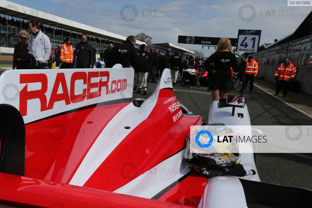 2013 FIA WEC Championship, Silverstone, Northamptonshire. 12th - 14th April 2013. Chris Dyson / Michael Marsal / Tom Kimber Smith Greaves Motorsport Zytek Z11SN Nissan World Copyright: Ebrey / LAT Photographic.