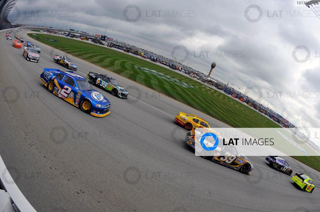 16-18 September, 2011, Joliet, Illinois USARyan Newman and Brad Keselowski(c)2011, LAT SouthLAT Photo USA
