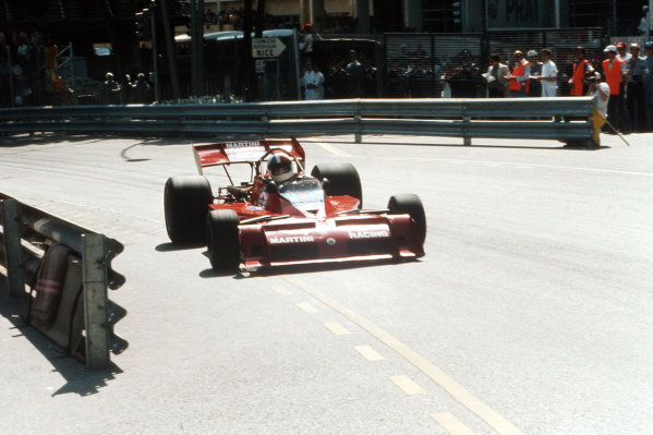 Monte Carlo, Monaco.31/5-3/6 1973.  Chris Amon (Tecno PA123B).  World Copyright - LAT Photographic