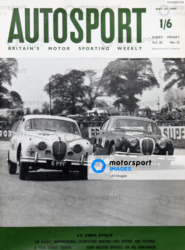 1960 Autosport Front Cover.