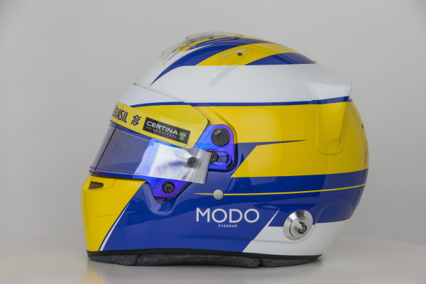 Hinwil, Switzerland. Thursday 29 January 2015. World Copyright: Sauber F1 Team (Copyright Free FOR EDITORIAL USE ONLY) ref: Digital Image 2015_SAUBER_HELMET_10