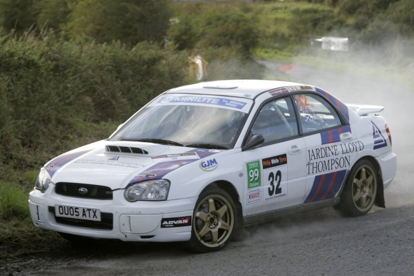 2006 British Rally ChampionshipUlster Rally, Armagh.2nd September 2006Jimmy McRaeWorld Copyright - Ebrey/LAT Photographic