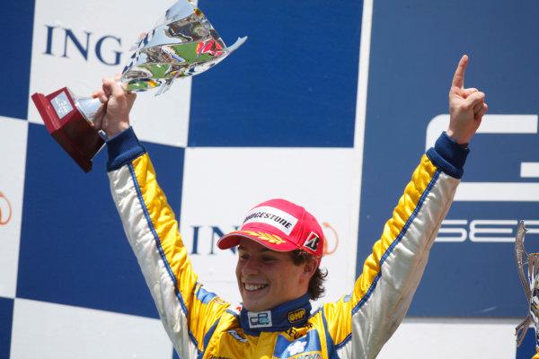 Sunday Race. 7th June 2009. Javier Villa (ESP, Super Nova Racing). World Copyright: Glenn Dunbar/ GP2 Series Media Service.Ref: _MG_0120 jpg