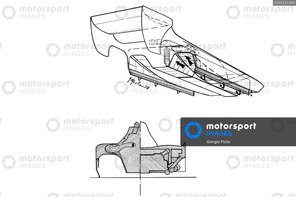 Lotus 79 1978 ground effect comparison
