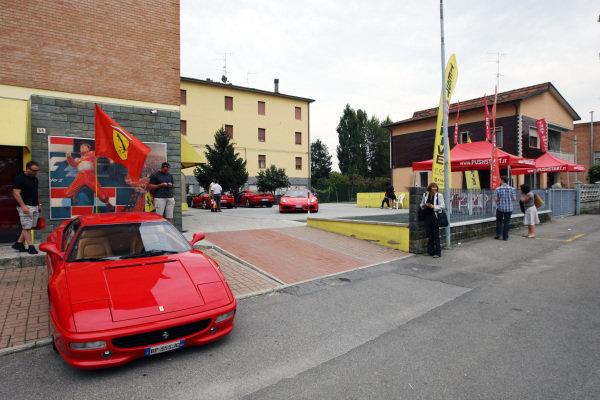 www.pushstart.it Ferrari test drive experiences.Galleria Ferrari, Maranello, Italy, Monday 13 September 2010.