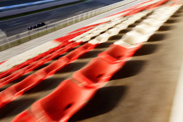 Circuit de Catalunya, Barcelona, Spain Tuesday 23 February 2016. Max Verstappen, Toro Rosso STR11 Ferrari. World Copyright: Sam Bloxham/LAT Photographic ref: Digital Image _SBL7084