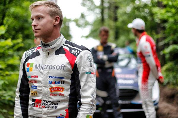 Esapekka Lappi (FIN), Toyota Gazoo Racing WRT WRC at World Rally Championship, Rd8, Rally Poland, Preparations and Shakedown, Mikolajki, Poland, 29 June 2017.