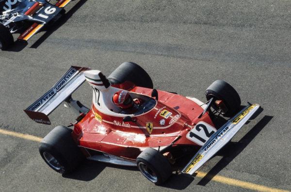 Niki Lauda, Ferrari 312T.