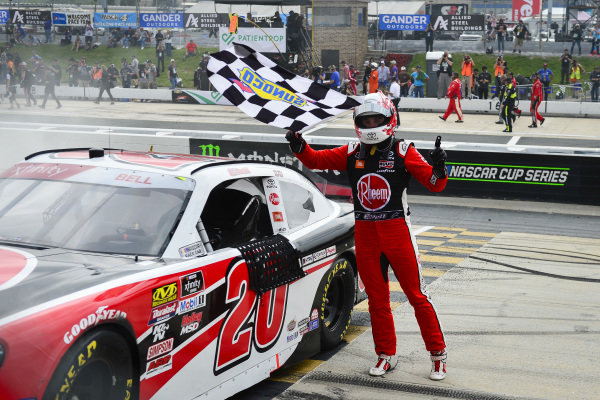 #20: Christopher Bell, Joe Gibbs Racing, Toyota Supra Rheem wins at Dover