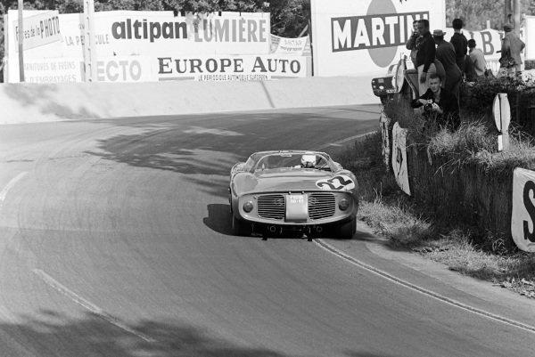 Michael Parkes / Umberto Maglioli, Scuderia Ferrari, Ferrari 250P.