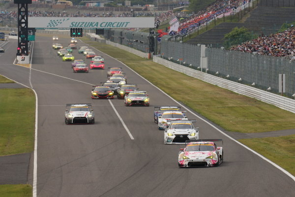 The start of the GT300 race.