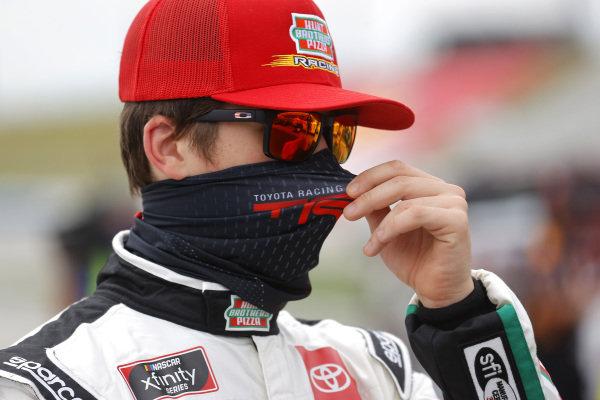 Harrison Burton, Joe Gibbs Racing Toyota Hunt Brothers Pizza/DEX Imaging, Copyright: Chris Graythen/Getty Images.