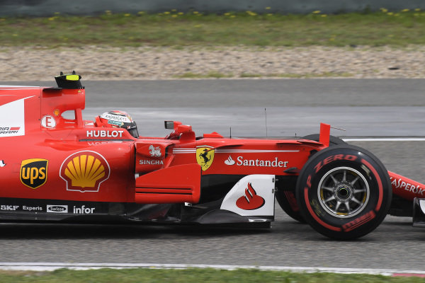 Kimi Raikkonen (FIN) Ferrari SF70-H at Formula One World Championship, Rd2, Chinese Grand Prix, Qualifying, Shanghai, China, Saturday 8 April 2017.