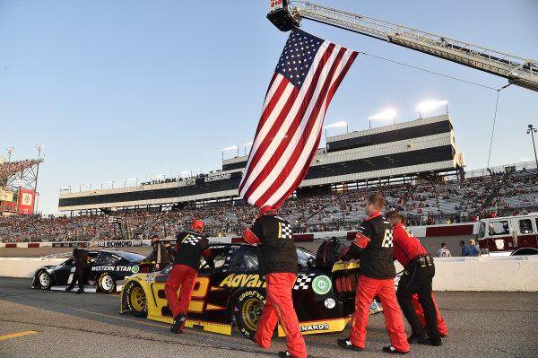 #2: Brad Keselowski, Team Penske, Ford Mustang Western Star, #12: Ryan Blaney, Team Penske, Ford Mustang Advance Auto Parts