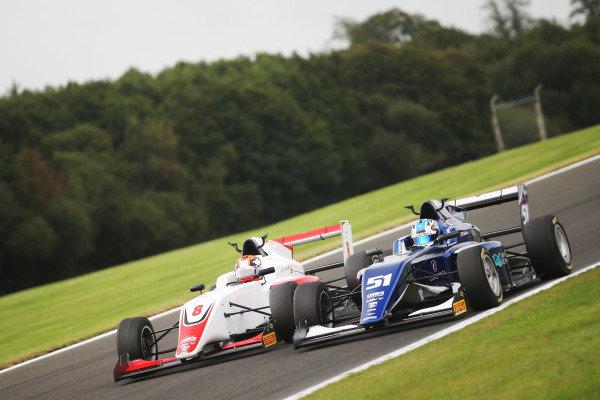 Zak O'Sullivan (GBR) - Carlin BRDC GB3 and Luke Browning (GBR) Fortec Motorsports BRDC GB3