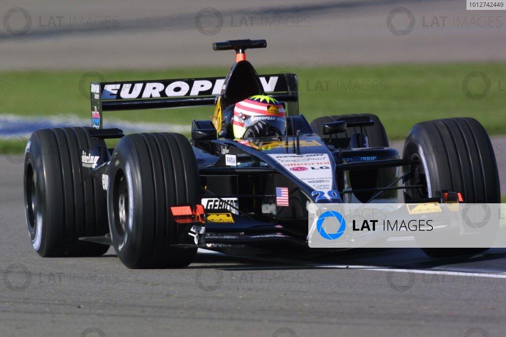 2001 American Grand Prix - Saturday / Qualifying