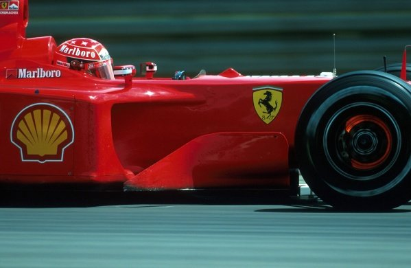 Michael Schumacher (GER) Ferrari F1 2001 - Winner