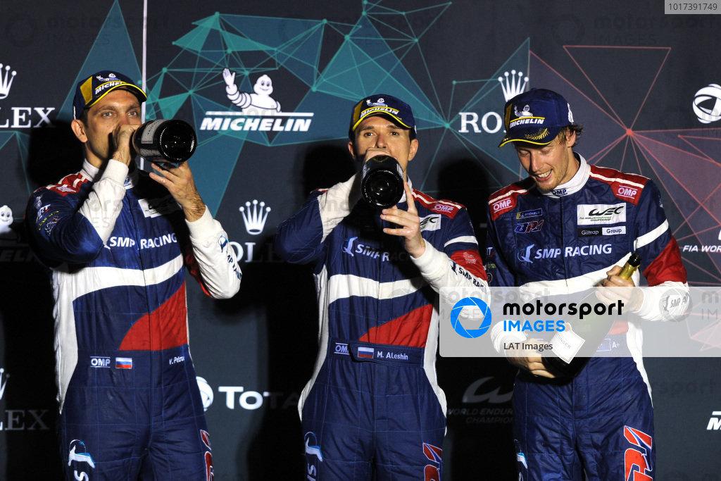 #11 SMP Racing BR Engineering BR1: Mikhail Aleshin, Vitaly Petrov, Brendon Hartey