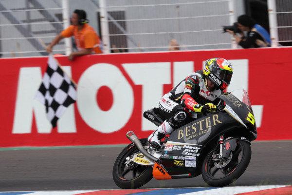 Race winner Jaume Masia, Bester Capital Dubai.