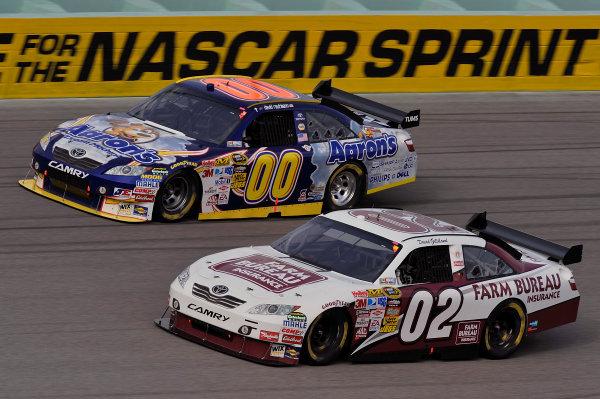 20-22 November, 2009, Homestead, Florida, USADavid Gilliland and David Reutimann cars.©2009, LAT South, USALAT Photographic