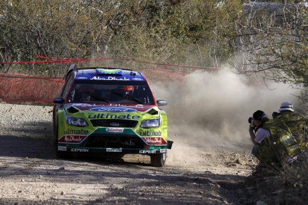 2010 FIA World Rally ChampionshipRound 02Rally Mexico 4-7 Mars 2010Mikko Hirvonen, Ford WRC, ActionWorldwide Copyright: McKlein/LAT