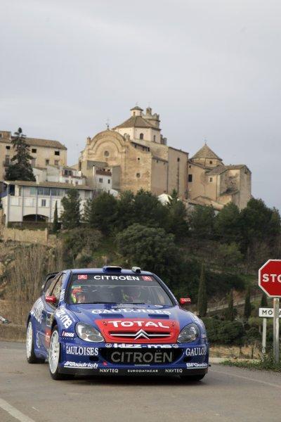2006 FIA World Rally Champs. Round four Rally Catalunya Spain. 24-26th March 2006Sebastian Loeb, Citroen, action.World Copywright: Mcklein/LAT