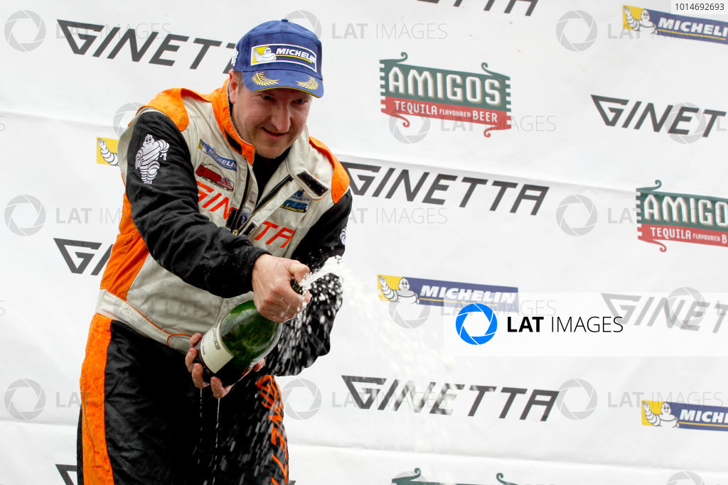 Ginetta GT4 Supercup, Silverstone, 17th-18th September 2016, Carl Boardley (GBR) Carl Boardley Motorsport Ginetta G55. World Copyright. Ebrey/LAT Photographic