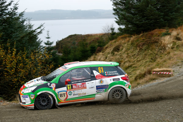2016 FIA World Rally Championship, Round 13, Wales Rally GB 2016 October 27 - 30, 2016 Simone Tempestini, DS, action  Worldwide Copyright: McKlein/LAT