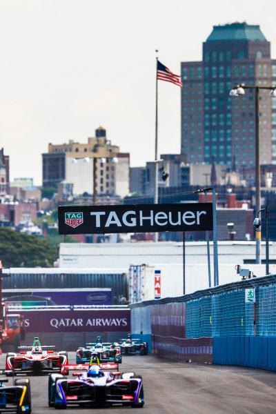 2016/2017 FIA Formula E Championship. Round 9 - New York City ePrix, Brooklyn, New York, USA. Saturday 15 July 2017. Felix Rosenqvist (SWE), Mahindra Racing, Spark-Mahindra, Mahindra M3ELECTRO. Photo: Sam Bloxham/LAT/Formula E ref: Digital Image _W6I2157