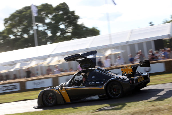2017 Goodwood Festival of Speed. Goodwood Estate, West Sussex, England. 30th June - 2nd July 2017. Radical World Copyright : JEP/LAT Images
