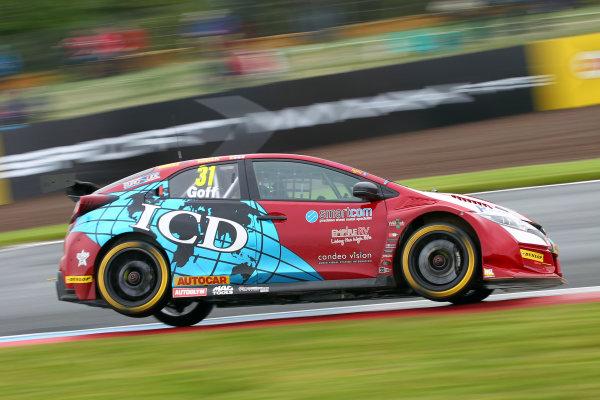 2017 British Touring Car Championship, Knockhill, Scotland. 12th-13th August 2017, Jack Goff (GBR) Eurotech Racing Honda Civic Type R World copyright. JEP/LAT Images