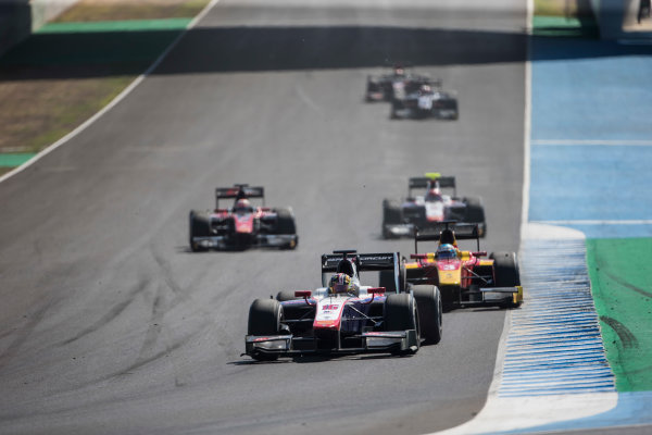 2017 FIA Formula 2 Round 10. Circuito de Jerez, Jerez, Spain. Sunday 8 October 2017. Nabil Jeffri (MAS, Trident).  Photo: Andrew Ferraro/FIA Formula 2. ref: Digital Image _FER3400
