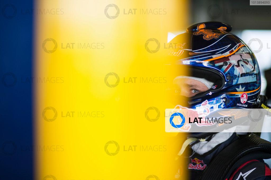 2013 V8 Supercar Championship. Round 1. Clipsal 500, Adelaide. 28th February 2013. Thursday Practice. Casey Stoner (Red Bull Racing Australia/Triple Eight Race Engineering – Holden Commodore VE II) Portrait. World Copyright:  Daniel Kalisz/LAT Photographic Ref: Digital Image DKAL2733.JPG .