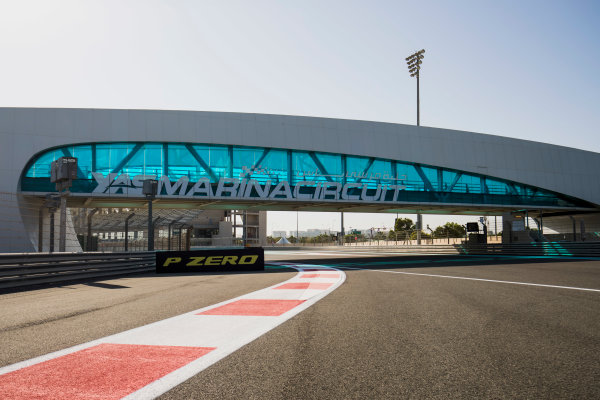 2017 GP3 Series Round 8.  Yas Marina Circuit, Abu Dhabi, United Arab Emirates. Thursday 23 November 2017. A view of the circuit. Photo: Zak Mauger/GP3 Series Media Service. ref: Digital Image _56I8252