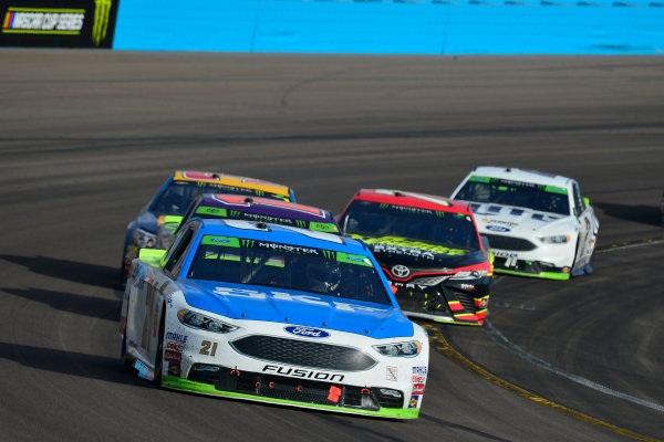 Monster Energy NASCAR Cup Series Can-Am 500 Phoenix Raceway, Avondale, AZ USA Sunday 12 November 2017 Ryan Blaney, Wood Brothers Racing, SKF / Quick Lane Tire & Auto Center Ford Fusion World Copyright: Logan Whitton LAT Images