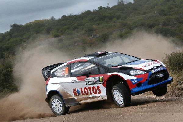 Robert Kubica (POL) / Maciek Szczepaniak (POL), Ford Fiesta RS WRC. FIA World Rally Championship, Rd5, Rally Argentina, Preparations and Shakedown, Cordoba-Villa Carlos Paz, Argentina, 8 May 2014.