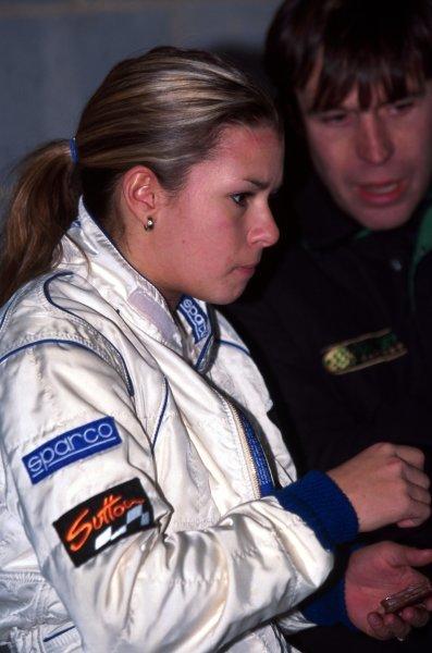 Danica Patrick (USA)General Testing, Silverstone, England, 10 November 1998