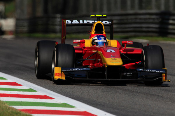 2013 GP2 Series. Round 9.  Autodromo di Monza, Monza, Italy. 6th September.  Friday Qualifying.  Fabio Leimer (SUI, Racing Engineering). Action.  World Copyright: Charles Coates/GP2 Media Service. ref: Digital Image _X5J6563.jpg