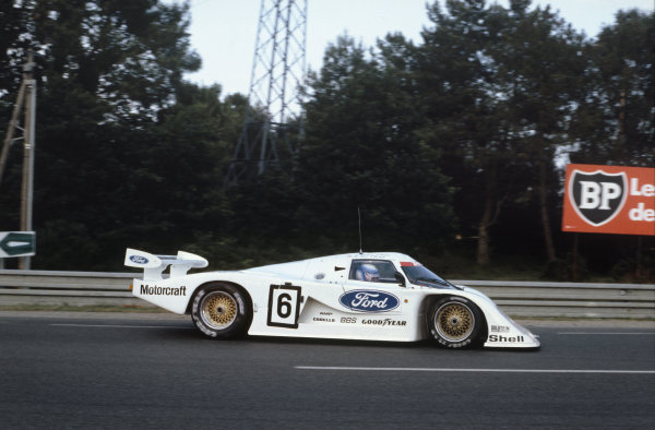 1982 Le Mans 24 hours. Le Mans, France. 19th - 20th June 1982. Klaus Ludwig / Marc Surer (Ford C100), retired, action. World Copyright: LAT Photographic. Ref: 82LM35.