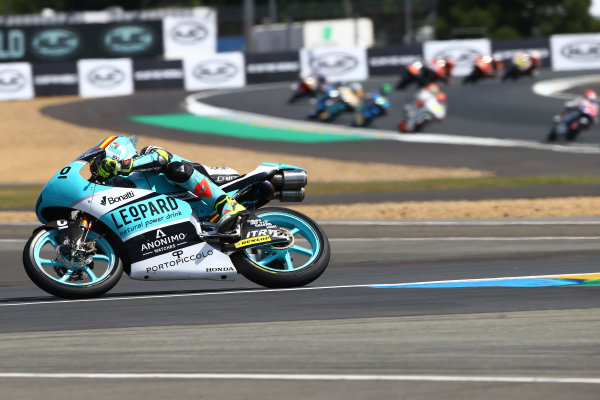 2017 Moto3 Championship - Round 5 Le Mans, France Sunday 21 May 2017 Joan Mir, Leopard Racing World Copyright: Gold & Goose Photography/LAT Images ref: Digital Image 672053