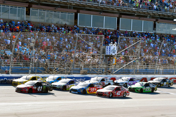 Monster Energy NASCAR Cup Series GEICO 500 Talladega Superspeedway, Talladega, AL USA Sunday 7 May 2017 Kurt Busch, Stewart-Haas Racing, Haas Automation/Monster Energy Ford Fusion World Copyright: Nigel Kinrade LAT Images ref: Digital Image 17TAL1nk07199