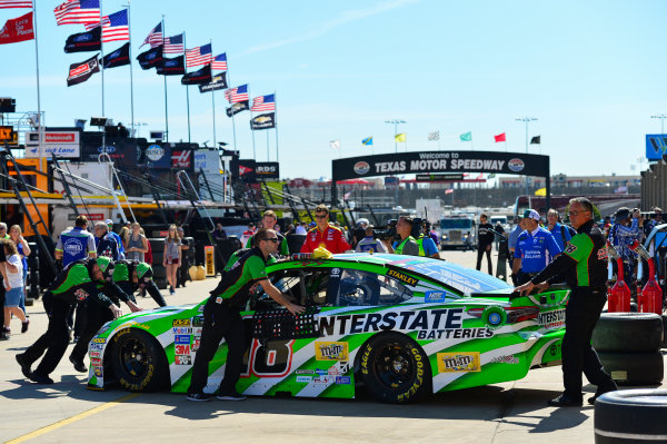 2017 Monster Energy NASCAR Cup Series O'Reilly Auto Parts 500 Texas Motor Speedway, Fort Worth, TX USA Friday 7 April 2017 Kyle Busch, Interstate Batteries Toyota Camry World Copyright: Logan Whitton/LAT Images ref: Digital Image 17TEX1LW0031