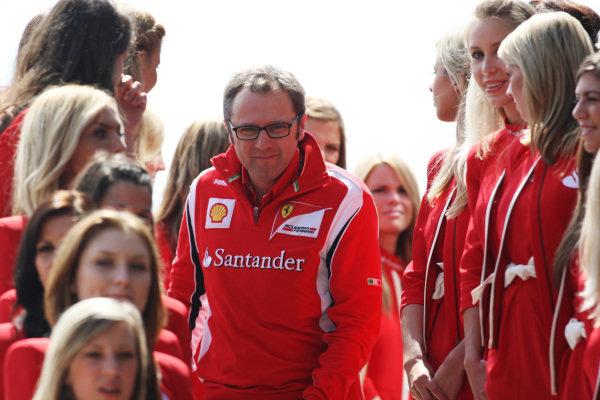 Stefano Domenicali (ITA) Ferrari General Director.  Formula One World Championship, Rd 9, British Grand Prix, Race, Silverstone, England, Sunday 10 July 2011.